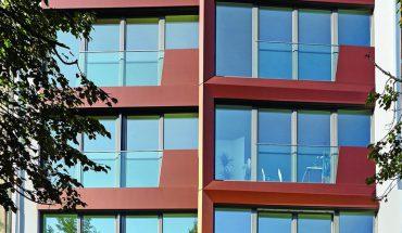 Aluminiumverbund-Fassadenplatten für vorgehängte, hinterlüftete Fassade