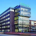 Rauch- und Feuerschutztüren beu Philips in Hamburg.