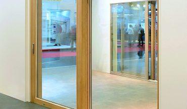 Hebeschiebetür für barrierefreies Öffnen und Schließen nach DIN 18040. Bild: Gretsch-Unitas GmbH