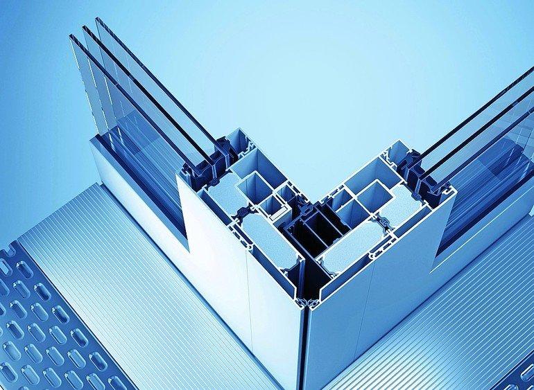 Öffnen der 90° Ecke möglich: Hebe-/Schiebesystem für mehr Transparenz