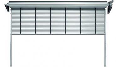 Schnelllauf-Rolltor für stark frequentierte Hallen mit hohem Wärmschutz. Bild: Teckentrup