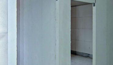Porenbeton-Innenwände in tapezierfähiger Oberflächenqualität