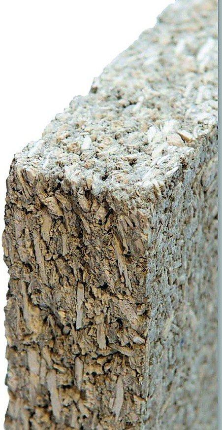 Mineralische Wandplatte. Bild: Claytec