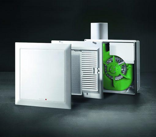 Bedarfs- und normgerechte Lüftung für Einzelräume dank EC-Technologie. Bild: Helios
