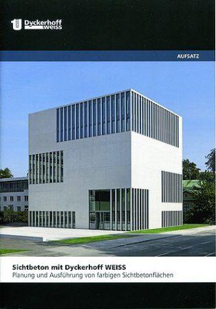 Planung und Ausführung farbiger Sichtbetonflächen