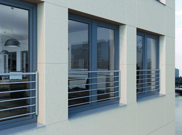 Transparente absturzsicherung f r kunststofffenster for Kunststofffenster angebote