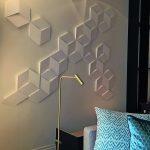 3D Wandpaneele für individuelle Gestaltungsmöglichkeiten. Bild: Orac Decor