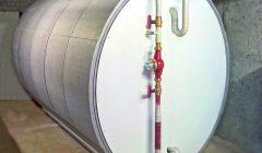 Modularer Pufferspeicher auch für begrenzte Türbreiten. Bild: Consolar