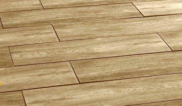 Betonplatten in Holzdielenoptik