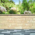 Gartenmauern freistehend bis 2,55 m Höhe. Bild: Jasto Baustoffwerke