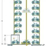 Automatische Fahrradgarage. Bild: Otto Wöhr GmbH