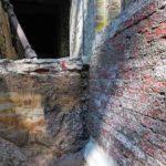 ußenabdichtung eines alten Backsteinmauerwerks wird instandgesetzt. Bild: Isotec