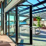 Faltbare Glaswand. Bild: Wicona/Sapa Building Systems