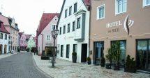 Der Schnellestrich für die Böden eines Hotelneubaus in der Altstadt von Donauwörth erzielte einen enormen Zeitgewinn beim Bauen. Bilder: Uzin