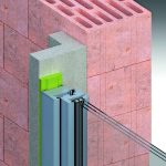 Das Vorwandmontage-System ermöglicht mit drei verschiedenen Zargentypen und Prüfun-gen auch für wenig tragfähige Wandkonstruktionen die Vorwandmontage in Bautiefen zwischen 35 und 200 mm. Bild: tremco illbruck