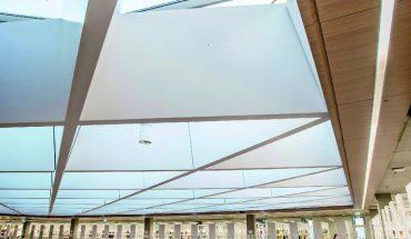 Individuell gestaltetes Glasdach für mehr Tageslichteinfall.