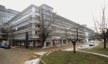 Die Bürobauten der ehemaligen US-Botschaft werden nach der Sanierung neuer Sitz der Bundesanstalt für Landwirtschaft und Ernährung.