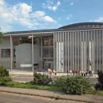 Denkmalgeschütztes Gebäude der Staatlichen Porzellan-Manufaktur Meissen.