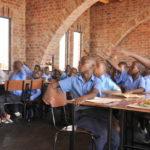 Klassenzimmer in Simbabwe