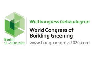 Auf dem Weltkongress Gebäudegrün in Berlin geht es vom 16. bis 18. Juni 2020 geht es um aktuelleThemen rund um die Innenraum-, Dach- und Fassadenbegrünung.