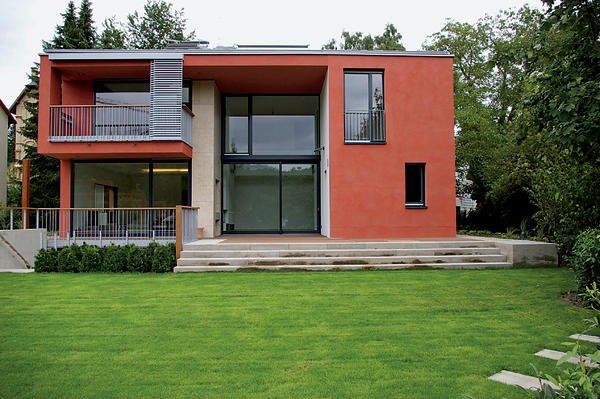 einfamilienhaus in hofheim am taunus vorliebe rot. Black Bedroom Furniture Sets. Home Design Ideas