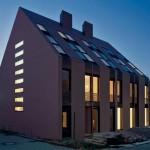 Es gibt keine Dachüberstände, keine Fallrohre und keine außen liegenden Rinnen. Bilder: MMZ Architekten, Frankfurt