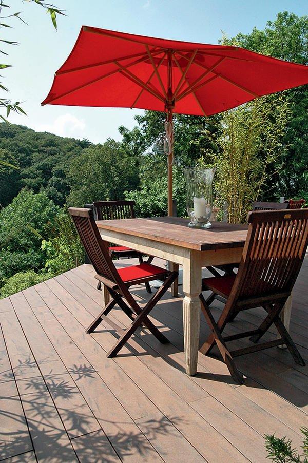 kombiniertes f r balkone und terrassen. Black Bedroom Furniture Sets. Home Design Ideas
