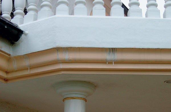 Balkonentwasserung Nach Optischen Und Funktionalen Aspekten Weniger