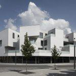 Gemeinschaftswohnhaus Am Hauptbahnhof in Korbach. Bild: Deimel + Wittmar