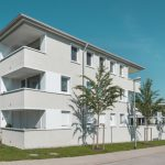 Deutsche Ziegelbauten: Genossenschaftliches Wohnen, Kempten. Foto: Rainer Retzlaff