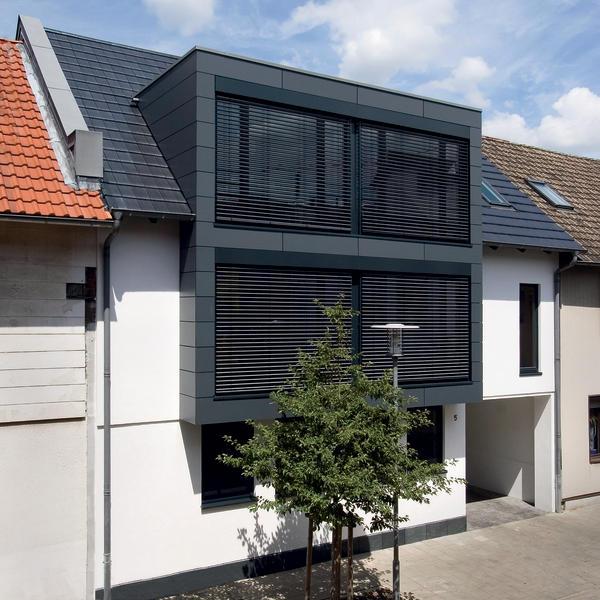 neubau eines wohnhauses und umbau zum b ro in braunschweig l cke geschlossen. Black Bedroom Furniture Sets. Home Design Ideas