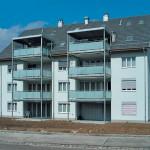 In Seuzach entstanden mehrere Mehrfamilienhäuser, deren Balkone mit Flüssigkunststoff abgedichtet wurden.