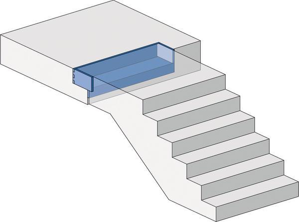 Treppenhaus Planen trittschallschutz im treppenhaus intelligent entkoppelt
