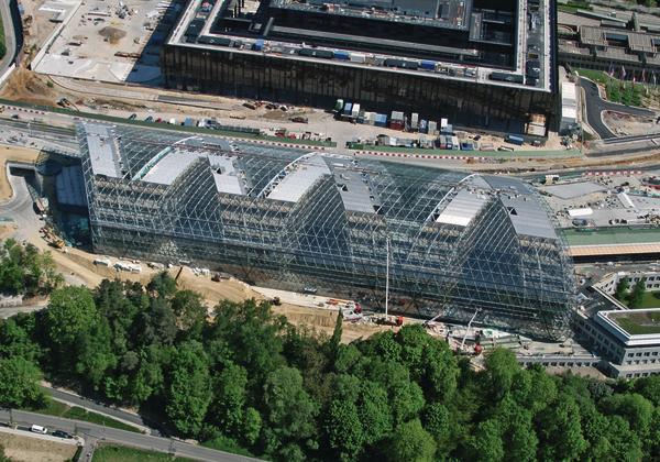Neubau der europ ischen investmentbank in luxemburg gesch tzte transparenz - Architekten luxemburg ...