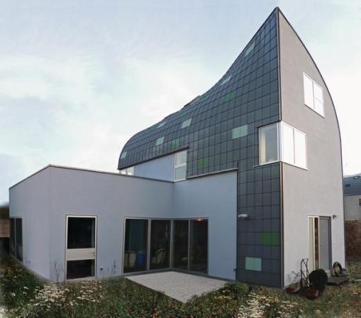 neubau von wohnh usern in berlin frohnau farbstimmung der umgebung. Black Bedroom Furniture Sets. Home Design Ideas