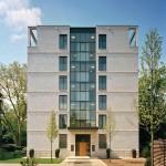 Die Villa 2 hat fünf Vollgeschosse sowie ein Staffelgeschoss. Bild: Robert Metsch, Frankfurt am Main