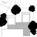 Die beiden Villen liegen in einem parkähnlichen Grundstück. Zeichnungen: Jo. Franzke Architekten