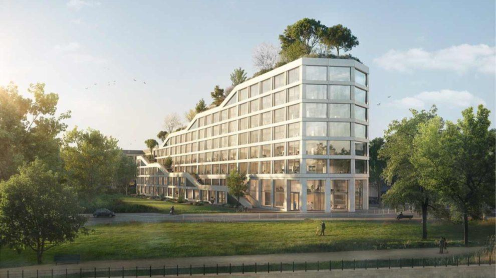 Bürogebäude AERA in Berlin-Charlottenburg von Bauwens