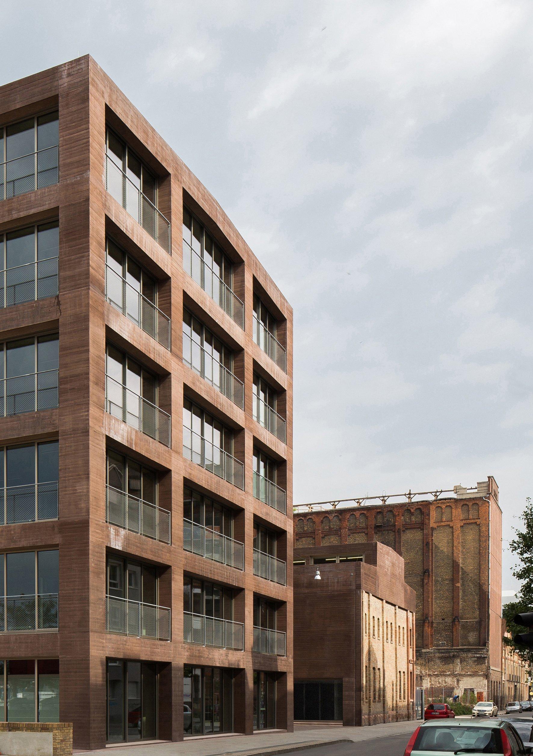 Vier herausragende betonbauten mit preis ausgezeichnet for Fh stuttgart architektur