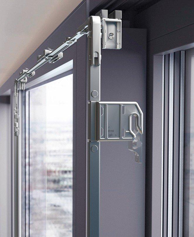 Schiebebeschlag für Fensterflügel: Leicht und mühelos.