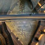 """Blick auf die Kunstinstallation """"in bewegung"""" von Achim Zeman. Bild: Christof Rose/Architektenkammer NRW"""