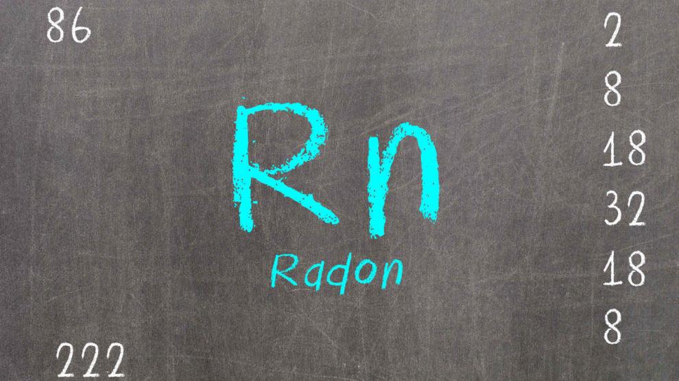 PSE-Darstellung von Radon. Bild: michaklootwijk/stock.adobe.com
