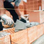 Mauerwerk im Bau