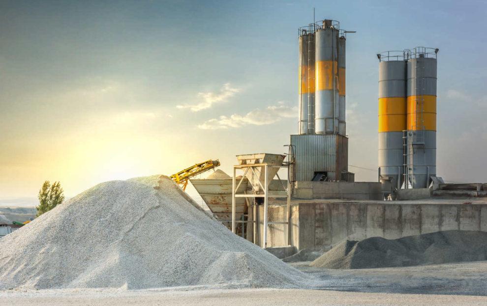 Zement-Fabrik