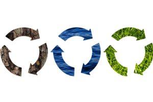 Kreislaufwirtschaft Symbole