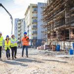 Baustelle mit Wohnhäusern. Bild: romul014/stock.adobe.com