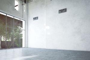Sichtestrich bzw. Betonboden in altem Industriegebäude