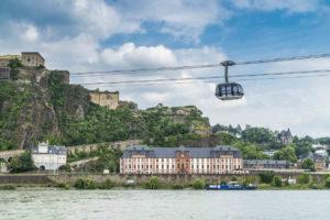 Seilbahn in Koblenz