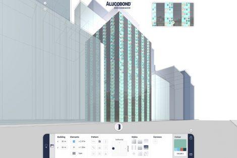 Alucobond Designmaker. Bild: 3A Composites