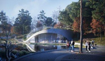 Großaquarium für den Tiergarten Schönbrunn. Entwurf von 3XN und Gerner Gerner Plus. Rendering: 3XN